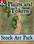 Plains and Tokens - Stock Art Pack