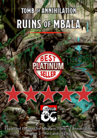 Ruins of Mbala - maps and extra content for Tomb of Annihilation