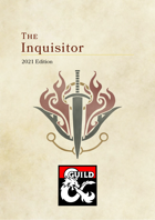Inquisitor Class for D&D 5e (2021)