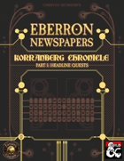 Eberron Newspapers: Korranberg Chronicle   Part 1 - Quests (Fantasy Grounds)