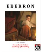 Eberron - Ten random books from the Library of Korranberg