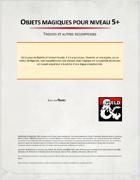 5 Objets magiques Niveau 5+