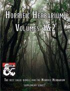 Horrific Herbarium: Volumes 1&2 [BUNDLE]