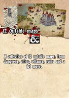 12 Outdoor area maps