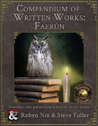 The Compendium of Written Works: Faerûn [Fantasy Grounds]