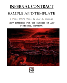 Infernal Contract Sample and Template
