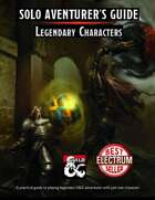 Solo Adventurer's Guide - Legendary Characters