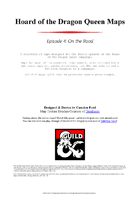 Hoard of the Dragon Queen Maps: Episode 4 On the Road