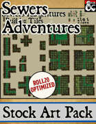 Sewers Adventures - Stock Art Pack