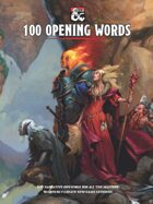 100 Opening Words