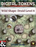 Digital Tokens: Wild Shape, level 8