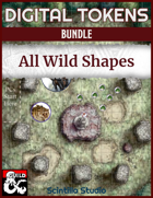 Digital Tokens: Wild Shape [BUNDLE]