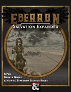 Eberron: Salvation Expanded