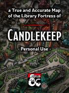Candlekeep Map - Personal Use