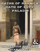 Paths of Ravnica: Azorius Oath of Duty Paladin