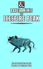 Paper Minis of Icespire Peak (Essentials Kit - Dragon of Icespire Peak)