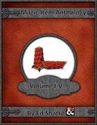 Magic Item Anthology I to V [BUNDLE]