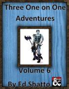 3 1 on 1 vol 6 [BUNDLE]