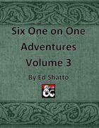 6 (7) 1on1 Volume 3 [BUNDLE]