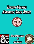 Fantasy Grounds Automatic Sneak Attack