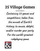 25 Village Games