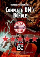Waterdeep: Dragon Heist Complete DM's Bundle PDF & FG [BUNDLE]