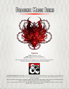 Draconic Magic Items, to help dragonborn and berserker adventurers