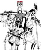 Skeleton stock art pack 1