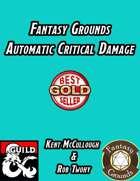 Fantasy Grounds Automatic Critical Damage