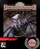 Underdark Dwellers: Drow & Driders UPDATED (For Stray Animals Charity)