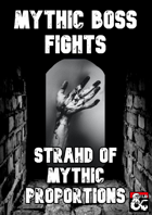 Mythic Boss Fights: Strahd of Mythic Proportions