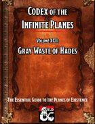Codex of the Infinite Planes Vol 22 Hades