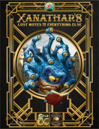 Xanathar's Lost Notes to Everything Else (Fantasy Grounds)