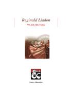 Reginald Liadon: PNG Elfo Alto Nobile