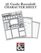 5E Character Sheet - Curse of Strahd - Castle Ravenloft