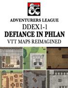 DDEX1-1 Defiance in Phlan VTT Maps Reimagined