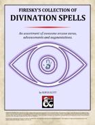 Divination Spells - Firesky's Collection