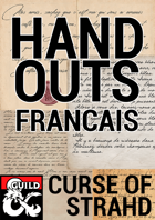 Curse of Strahd: French Handouts