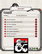 5th Edition Solo Rules (Fantasy Grounds)