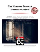 The Horrors Beneath Hopen'er Asylum