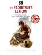 The Raconteur's Lexicon Volume 4: Expanded NPC Options