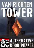 Van Richten's Tower : Alternative Door Puzzle