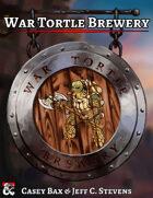 War Tortle Brewery - Adventure