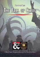 The Fall of Cyrog (Fantasy Grounds)