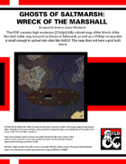 GS02: Ghosts of Saltmarsh: Wreck of the Marshall Fully Colored Maps