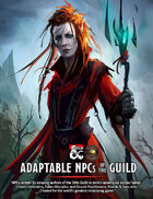 Adaptable NPCs of the Guild (Fantasy Grounds)
