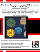 C2: The Ghost Tower of Inverness 5E Conversion and Colored Battle Maps