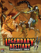 Legendary Bestiary II: Legendary Actions for CR 4 to 6