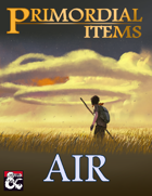 Primordial Items: Air (5e)