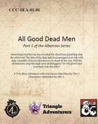 CCC-SEA-01-01 All Good Dead Men
